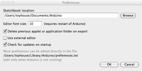 arduino-preferences